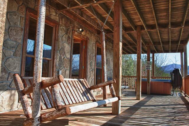 Wears Valley Cabin Rentals Endless View Cabin In The