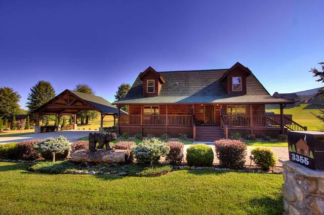 Smoky Mountain Paradise (3BR) 3 Bedroom Cabin Rental