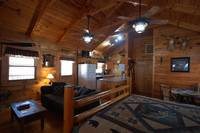 The ultimate relaxation spot for cabins near Great Smoky Mountains National Park. at ALWAYS AND FOREVER in Wears Valley TN