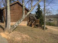 Parking at your cabin offers convenience. at ALWAYS AND FOREVER in Wears Valley TN