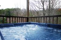 Get back to the basics - relax and listen to the sounds of nature. at SIMPLY VIEWTIFUL in Wears Valley TN