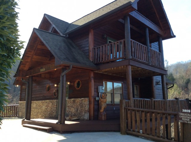 3 br pigeon forge cabins pigeon forge cabin rentals for Smoky mountain cabins on the water